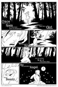 Run Freak Run Page 1 by Silver Saaremaeel and Kaija Rudkiewicz, 2012