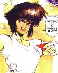 Motoko Kusanagi, The Major, Ghost in the Shell manga,攻殻機動隊, Kōkaku Kidōtai, Shirow Masamune, Kodansha, 1991