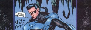 featured image - Nightwing Vol 1 #2. Dennis O'Neil (writer), Greg Land (pencils), Mike Sellers (inks). DC Comics, 1995