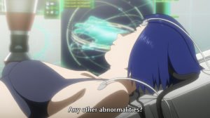 The Major, Motoko Kusanagi, reclining, Ghost in the Shell: Arise, Production IG, 2013