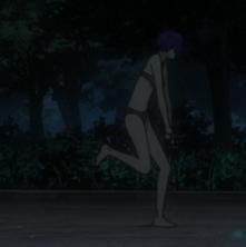 The Major, Motoko Kusanagi, in underwear, Ghost in the Shell: Arise, Production IG, 2013