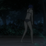 The Major, Motoko Kusanagi, in underwear, Ghost in the Shell: Arise, Production IG, 2013
