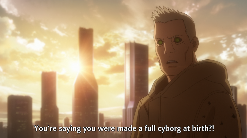 Batou, Ghost in the Shell: Arise, Production IG, 2013