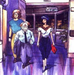 Fashion, Motoko Kusanagi, The Major, Ghost in the Shell manga,攻殻機動隊, Kōkaku Kidōtai, Shirow Masamune, Kodansha, 1991