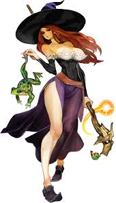 "A textbook ""TittyWitch,"" from Dragon's Crown."