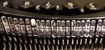 typewriter, keys, http://upload.wikimedia.org/wikipedia/commons/5/53/Typewriters.jpg, public domain