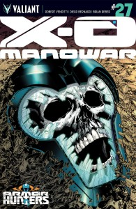 Cover: X-O Manowar #27, Valiant 2104