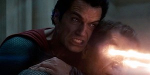 Screencap: Man of Steel, Superman and Zod, WB 2014