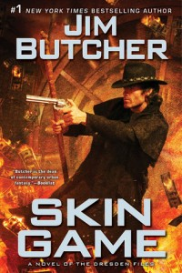 Cover: Skin Game  Jim Butcher, Penguin 2014