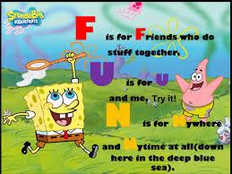 Sponge Bob on fun
