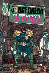 Judge Dredd Mega-City Two: City of Courts (TPB) Douglas Wolk Ulises Farinas IDW