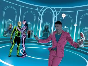 The Wicked + The Divine #4, Kieron Gillen and Jamie McKelvie. Image Comics, 2014.