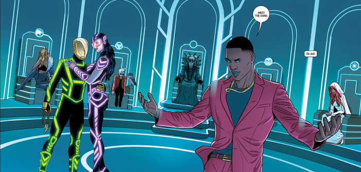 The Wicked + The Divine #4, Kieron Gillen and Jamie McKelvie. Image Comics, 2014.
