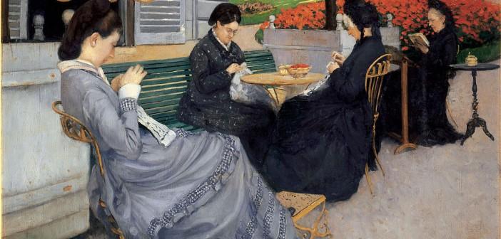 Portraits à la campagne (1876) Musée Baron Gérard, Bayeux