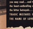stock: TRAGIC MISTAKES COMMITED IN THE NAME OF LOVE, digital comics museum