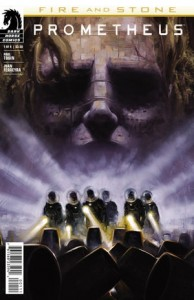Cover: Prometheus Fire and Stone, Tobin, Dark Horse 2014