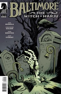 Cover: Baltimore Witch of the Haiju, Mignola  and Golden