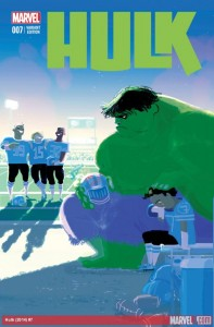 Hulk #7. Writer: Gerry Duggan. Variant Cover: Pascal Campion. Marvel, 2014.
