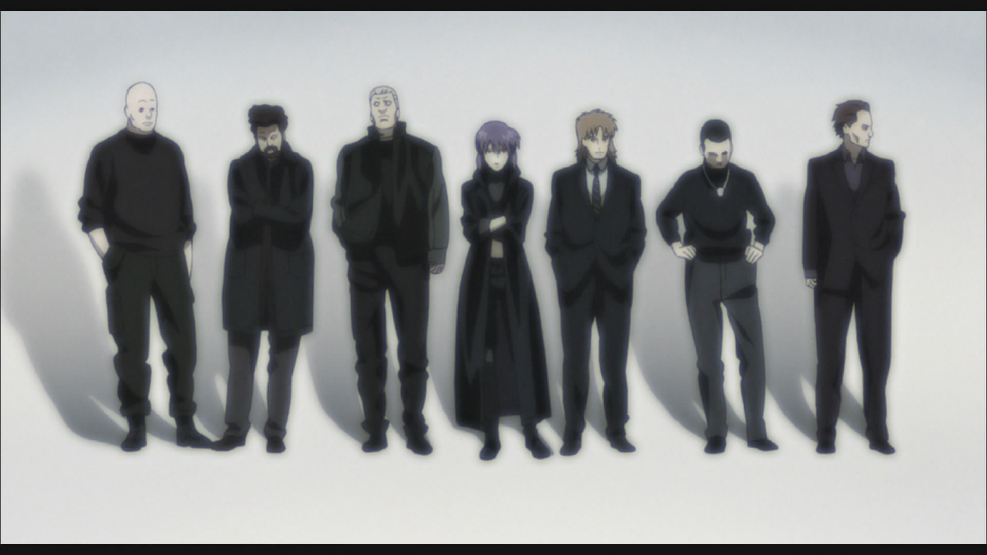 Section 9, Ghost in the Shell: Stand ALone Complex, 2nd Gig, Production IG, 2004
