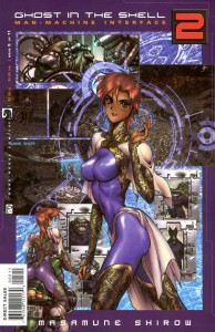 Issue 2, Ghost in the Shell 2: man-machine interface manga comic, Young Magazine, Dark Horse Comics, 1991 -- 2003