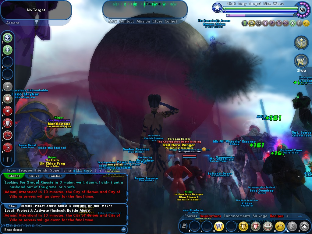 Saying good by to City of Heroes/Villains