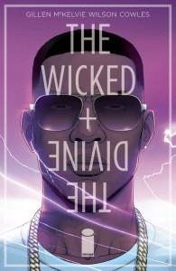 Cover - The Wicked + The Divine #4, Kieron Gillen and Jamie McKelvie, Image Comics, 2014