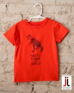 Jack and Jill T-Rex T-shirt