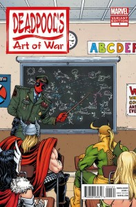 Deadpool's Art of War #1. W: Peter David. A:  Scott Koblish.