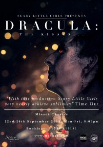 Dracula: The Kisses production poster
