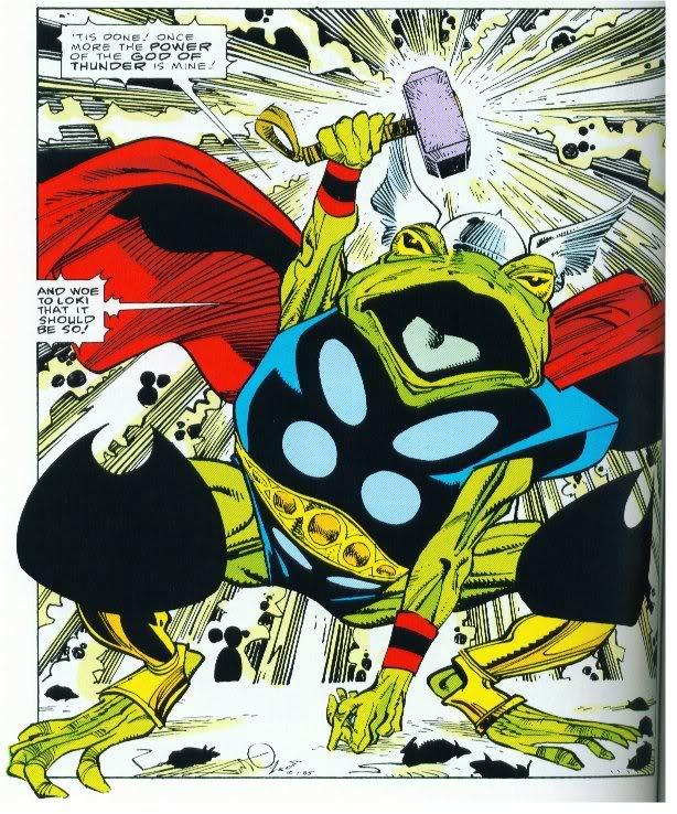Frog Thor, Marvel Comics, Walt Simonson,