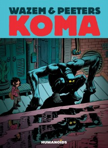 KOMA Humanoids, Wazem & Peeters, 2014