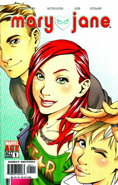 Spider-man Loves Mary-Jane, Marvel Comics, Writer: Sean McKeever Artists:Takeshi Miyazawa, David Hahn Colorist: Christina Strain, 2005 - 2007