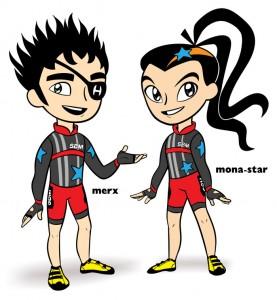 Character image Samurai Bike Messengers Pop-Post