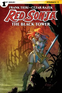 Cover: Amanda Conner, Dynamite, 2014, Red Sonja: The Black Tower #1