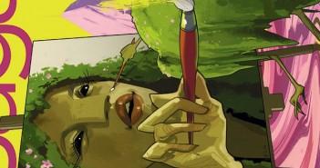 Saga 23, cover crop, Brian K Vaughn, Fiona Staples, Image Comics, September 2014,
