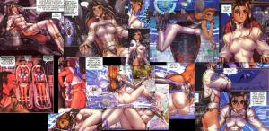 Motoko Aramaki, Ghost in the Shell 2: man-machine interface manga comic, Young Magazine, Dark Horse Comics, 1991 -- 2003