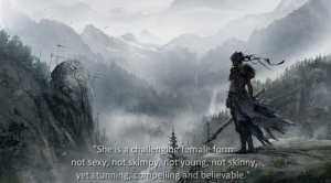 Video still from the Hellblade Development Diary 3