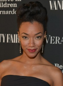 Sonequa Martin-Green. Vanity Fair. Photographed by Charley Gallay. June 18, 2014.