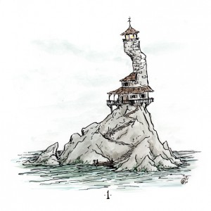 The Lighthouse by Colin Fawler, 2014