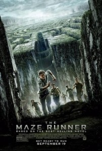 The Maze Runner movie poster, the Maze Runner, 2014, James Dashner, Wes Ball, 20th Century Fox