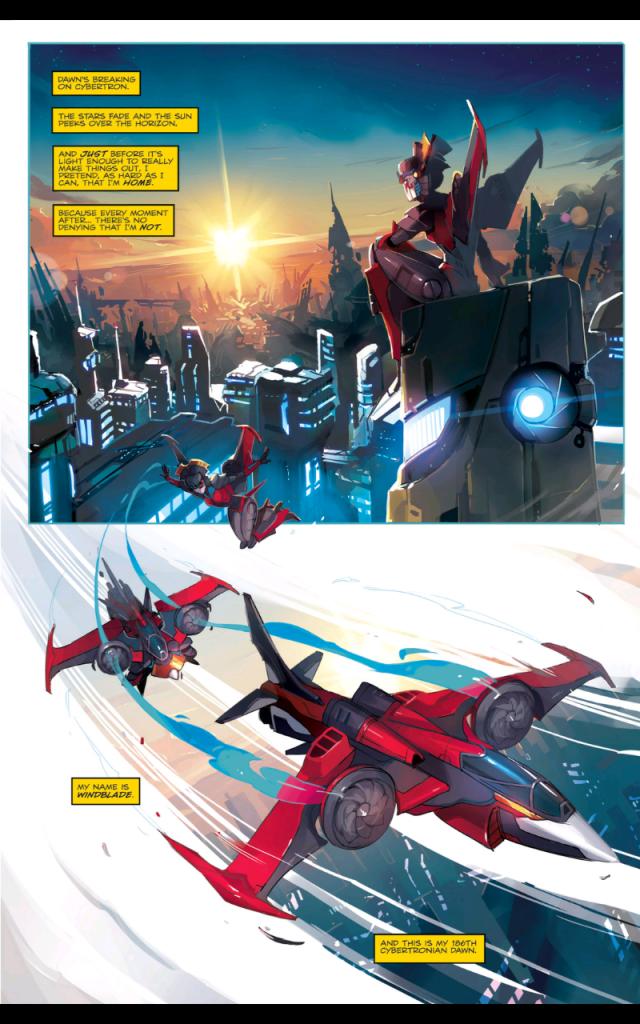 Transformers Windblade #1