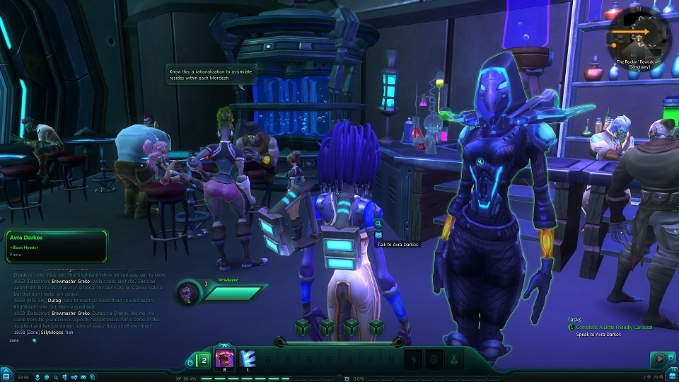 Wildstar: Timmy's stuck in the well. Please rescue him. Also, bring back some milk.