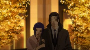 The Major and her boyfriend, Motoko Kusanagi, Ghost in the Shell: Arise, Ghost Tears, Production IG, 2014