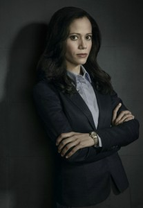 GOTHAM: Victoria Cartagena as Renee Montoya. GOTHAM premieres Monday, Sept. 22 (8:00-9:00 PM ET/PT) on FOX. 2014 Fox Broadcasting Co. Cr: Justin Stephens/FOX