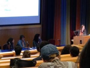 Aisha Franz, Melissa Mendes, and Jillian Tamaki.