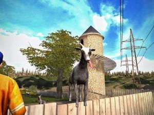 Goat Simulator iOS screen still