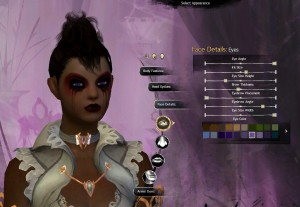 Guild Wars 2 character selection