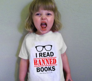 LittleLiterary I Read Banned Books T-shirt