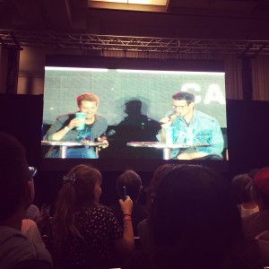 Fan Expo 2014 - Matt Smith and Arthur Darvill