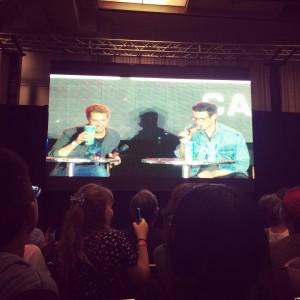 Fan Expo 2014 - Matt Smith and Arthur Darvill